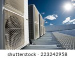 air conditioner units  hvac  on ... | Shutterstock . vector #223242958