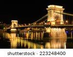 Chain Bridge  Budapest. Night...