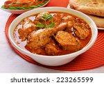 korma chicken 4   Shutterstock . vector #223265599