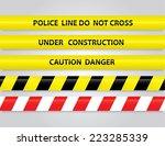 Set Of Different Danger Tapes....