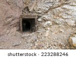 Abandoned Mine Entrance In...