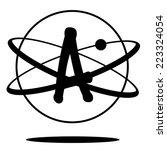 atheism symbol  | Shutterstock . vector #223324054