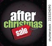 After Christmas Sale Design