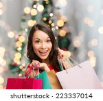 sale  gifts  holidays and... | Shutterstock . vector #223337014