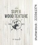 wood texture  vector  | Shutterstock .eps vector #223361374