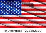 usa flag | Shutterstock . vector #223382170