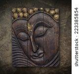 Buddha Image In Thai Style Woo...
