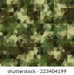 abstract vector military... | Shutterstock .eps vector #223404199