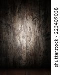 dark wooden texture | Shutterstock . vector #223409038