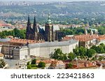 View Of The Prague Castle