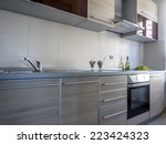 kitchen | Shutterstock . vector #223424323
