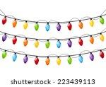 Color Christmas Light Bulbs On...