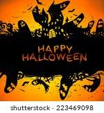 happy halloween | Shutterstock . vector #223469098