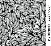 vector seamless pattern.... | Shutterstock .eps vector #223477399