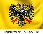 flag of holy roman empire  1400 ... | Shutterstock . vector #223527640