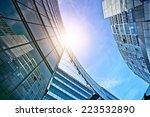 modern glass and steel office... | Shutterstock . vector #223532890