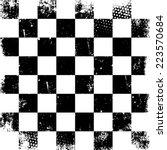 Grunge Vector Chessboard