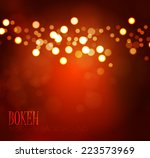 Colorful Bokeh Background....