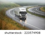 truck on the road | Shutterstock . vector #223574908