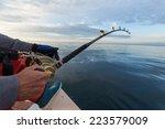 Man Fishing On A Big Game...