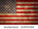 usa flag | Shutterstock . vector #223592404