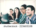 education concept   students... | Shutterstock . vector #223603108