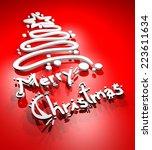 Merry Christmas Symbol
