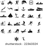 recreation and cultural...   Shutterstock .eps vector #22363324
