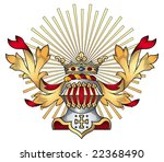 coat of arms vector | Shutterstock .eps vector #22368490