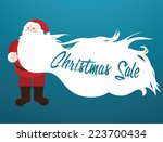 black friday sale.christmas... | Shutterstock .eps vector #223700434