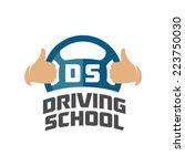Driving School Logo Template....