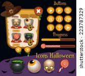 halloween interface game design ...
