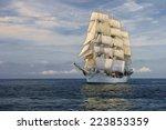 Sailing Ship.  Series Of Ships...
