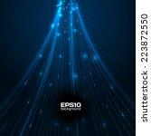 abstract technology blue...   Shutterstock .eps vector #223872550
