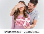 Man Surprising His Girlfriend...