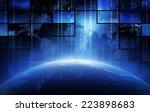 broadcasting | Shutterstock . vector #223898683