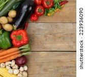vegetables | Shutterstock . vector #223936090