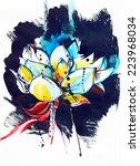 lotus | Shutterstock . vector #223968034