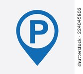 Parking Graphic Design   Vecto...