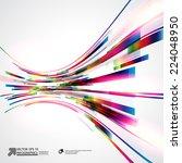 abstract vector background | Shutterstock .eps vector #224048950