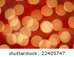abstract background of christmas lights - stock photo