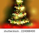 christmas tree light background....