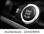 detail on a black start button... | Shutterstock . vector #224105854