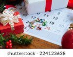 Decorations And Calendar With...