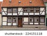 half timber house in... | Shutterstock . vector #224151118