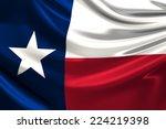 flag of texas. | Shutterstock . vector #224219398