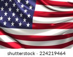 flag of the usa. | Shutterstock . vector #224219464