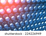 panel with the led bulb | Shutterstock . vector #224226949