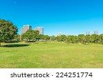 yokohama rinko park in yokohama ... | Shutterstock . vector #224251774