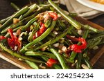Healthy Sauteed Green Beans...